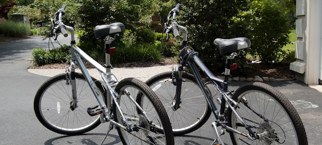 New bikes, iPhone tracking