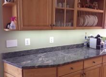 Under-cabinet LED lighting install